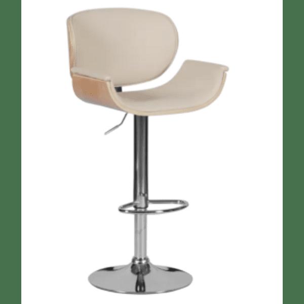Бар стол Carmen 4050 - бук / крем