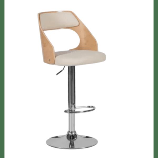 Бар стол Carmen 4035 - бук / крем