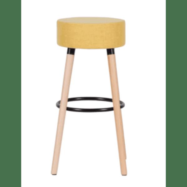 Бар стол Carmen 4025 - жълт