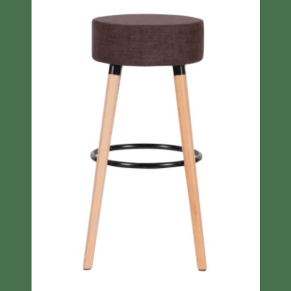 Бар стол Carmen 4025 - кафяв