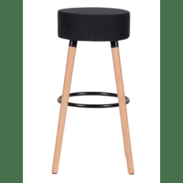 Бар стол Carmen 4025 - черен