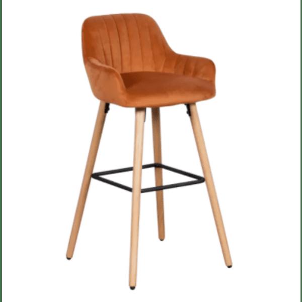 Бар стол Carmen 3082 - оранжев