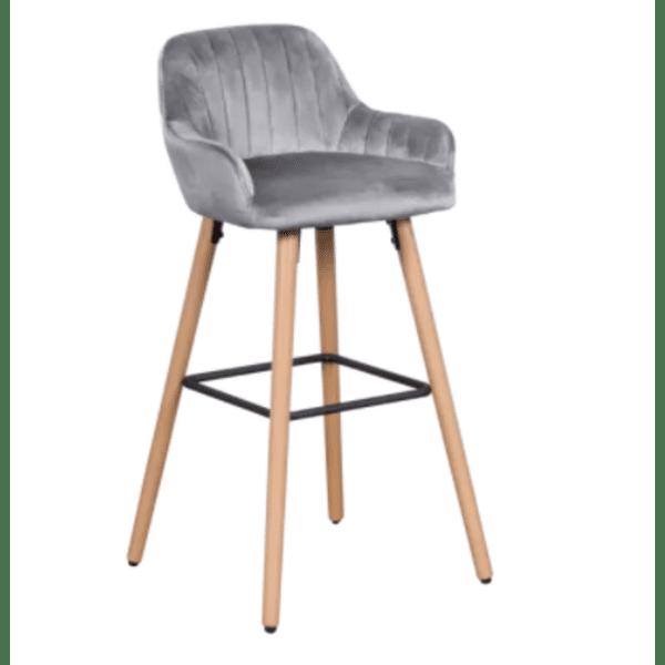 Бар стол Carmen 3082 - сив