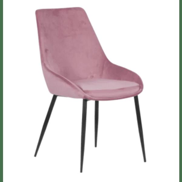 Трапезен стол HEDON - розов BF 2