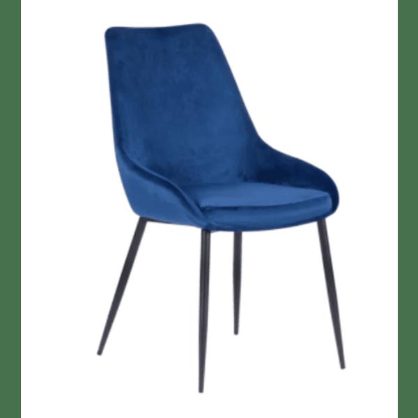 Трапезен стол HEDON - кралско син BF 2