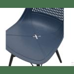 Трапезен стол Нина-тъмно син