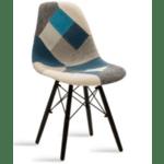 Трапезен стол Жулита-пачуърк сив
