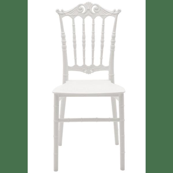 Кетъринг стол Маги-бял