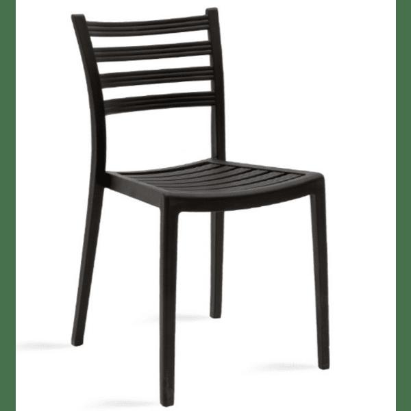 Градински стол Winn-черен