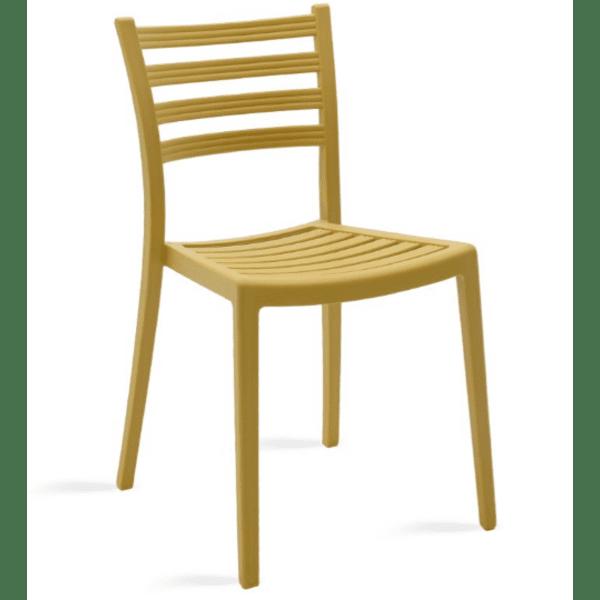 Градински стол Winn-жълт
