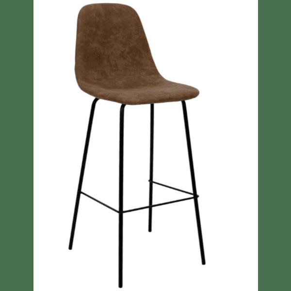 Бар стол Белла-кафяв