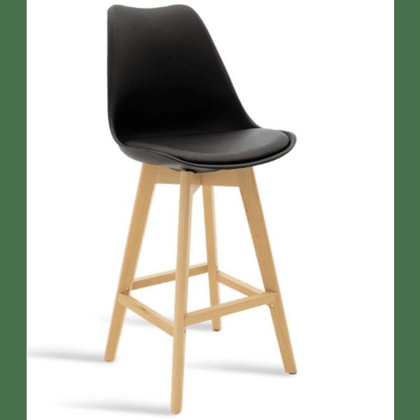 Бар стол Гастон-черен