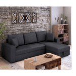 Ъглов диван-легло Marvel-антрацит