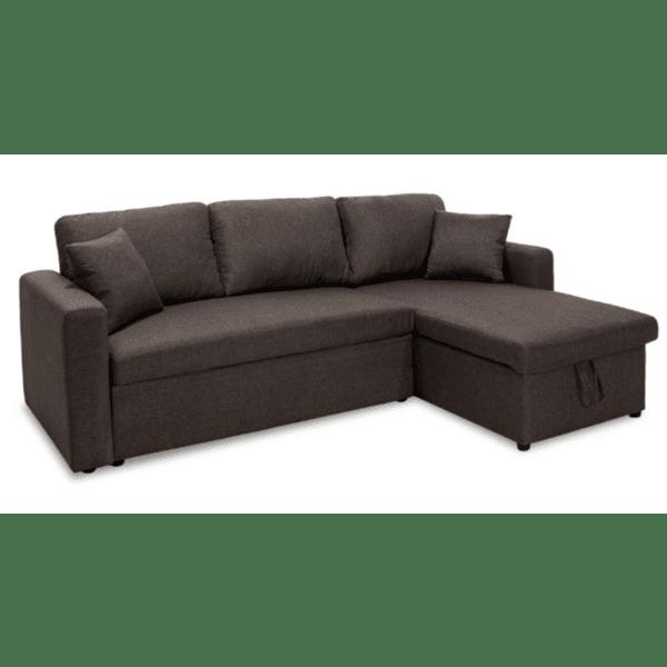 Ъглов диван-легло Marvel-кафяв