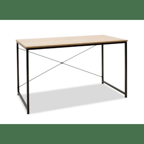 Работно бюро Ramon-цвят естествен - черен 120х60,5х70см