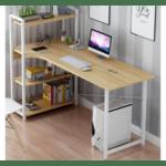 Офис шкаф Kadyn- дъб-бял 120x48x73,5 / 111см