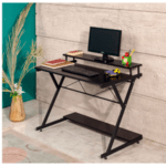 Офис бюро Торино цвят черен 100х45х75см