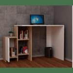 Офис бюро Kely-бял-естествен 113x55x74см