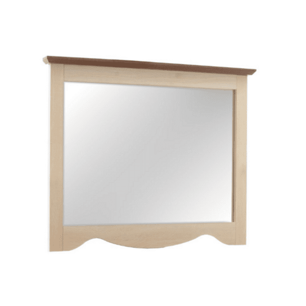 Огледало Лоран- цвят светъл дъб-орех