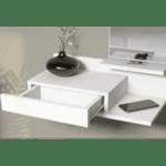 Стенна конзола Палма-бял цвят