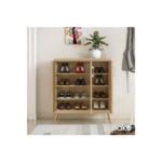 Шкаф за обувки RICARDO  16 чифта сонома цвят