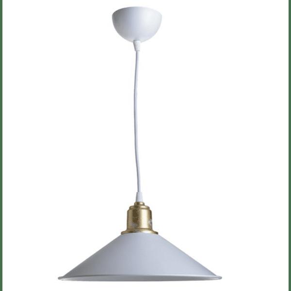 Таванна лампа PWL-0964 Φ30x62см-бял цвят