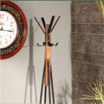 Закачалка Monk орехово-черен цвят Φ40x160см