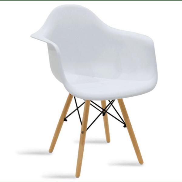 Трапезен стол  Julita цвят бял