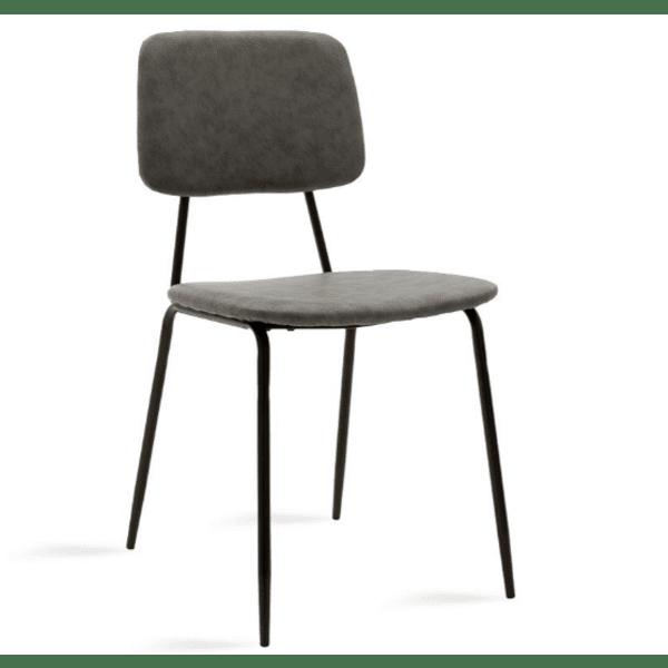 Трапезен стол Tania сив цвят