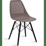 Трапезен стол Нина цвят мока