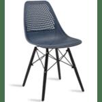 Трапезен стол Нина син цвят