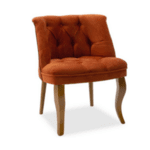 Кресло Лорета  тухлен цвят 59х64х73см