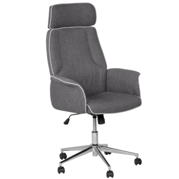 Офис кресло BARNI - сивo