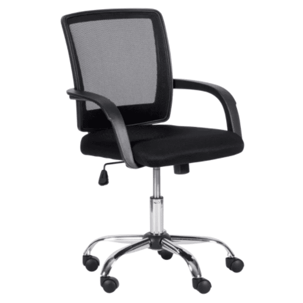 Работен офис стол Carmen 7056 - черен