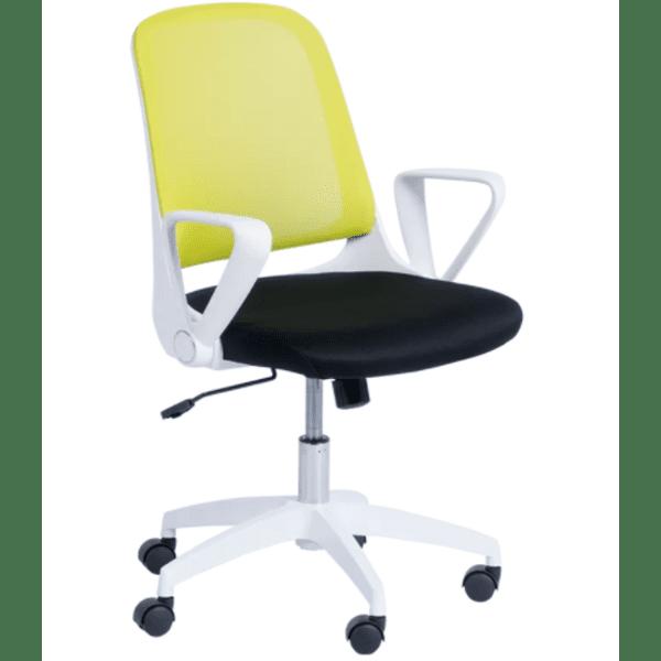 Работен офис стол Carmen 7033 - резеда - черен