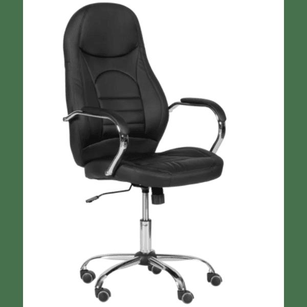 Президентски офис стол Carmen 6515 - черен