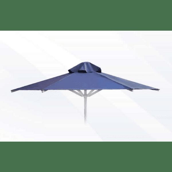 Алуминиев плажен чадър с PVC плат2м
