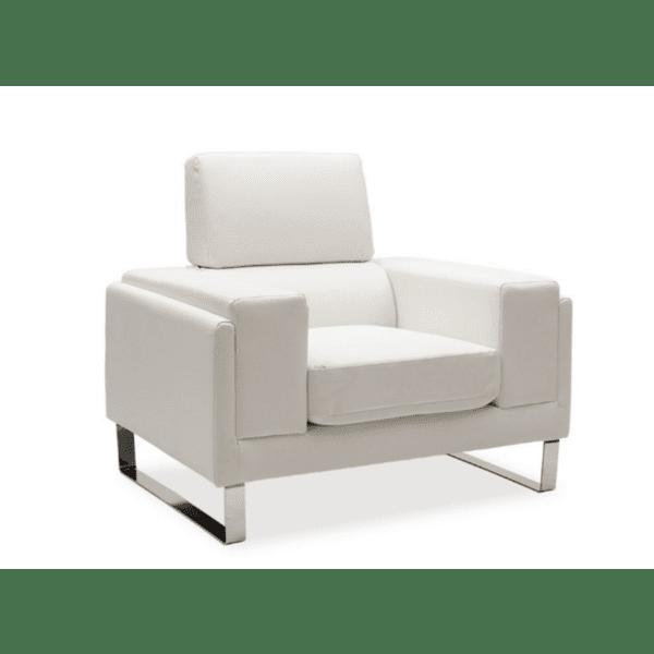 Кресло Shea бял цвят