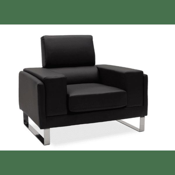 Кресло Shea черен цвят