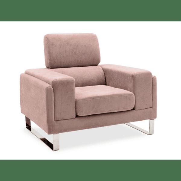 Кресло Shea розов цвят