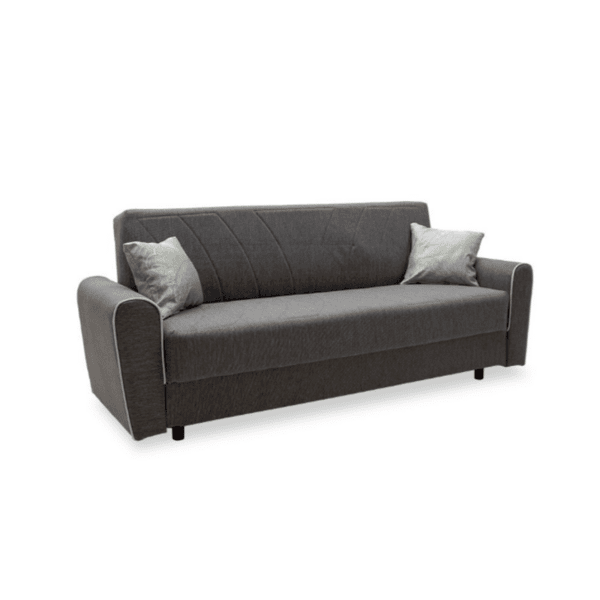 Диван-легло Demie тъмно сив 220x85x87см