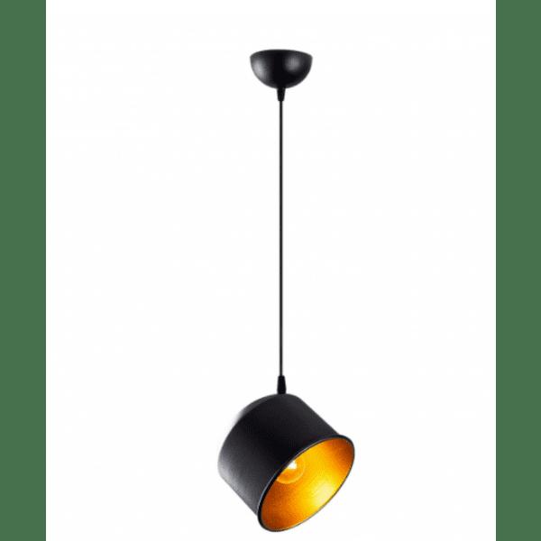 Модерна метална таванна лампа Рио 18Χ18Χ110см