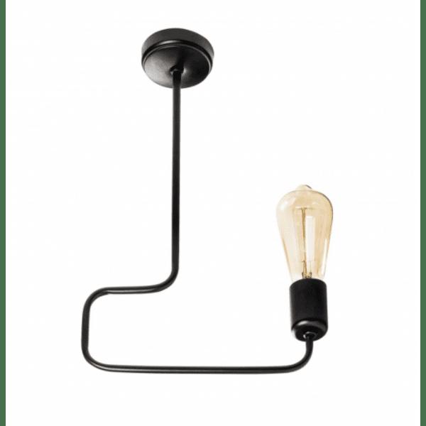 Метална таванна лампа Мелита