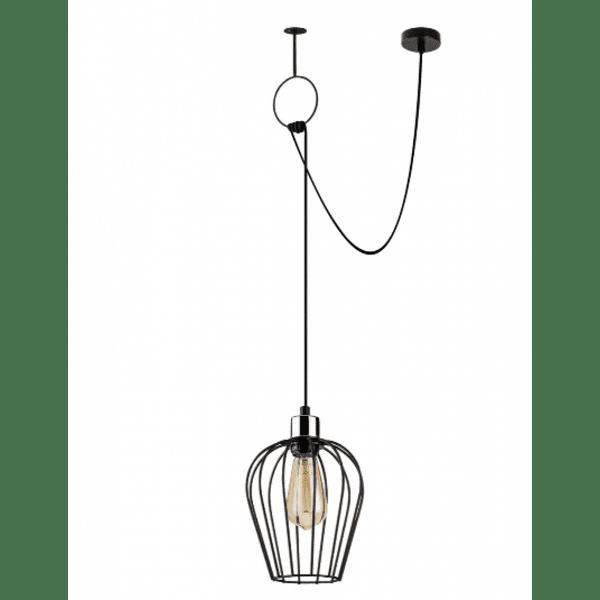 Модерна окачена таванна лампа 80Χ20Χ130см
