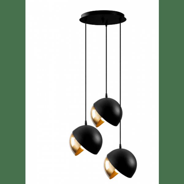 Метална таванна лампа Трио  Φ40x114см
