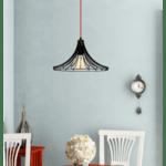 Модерна метална лампа Кари