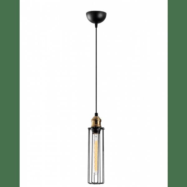 Модерна метална таванна лампа  Φ8Χ123
