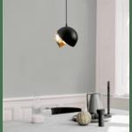 Модерна метална лампа за таван Еда 20x20x114 cм