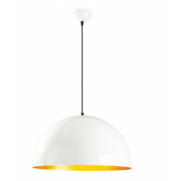 Метална таванна лампа Белла 50х50х121 см