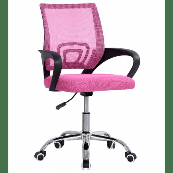 Офис стол Бристон-розов